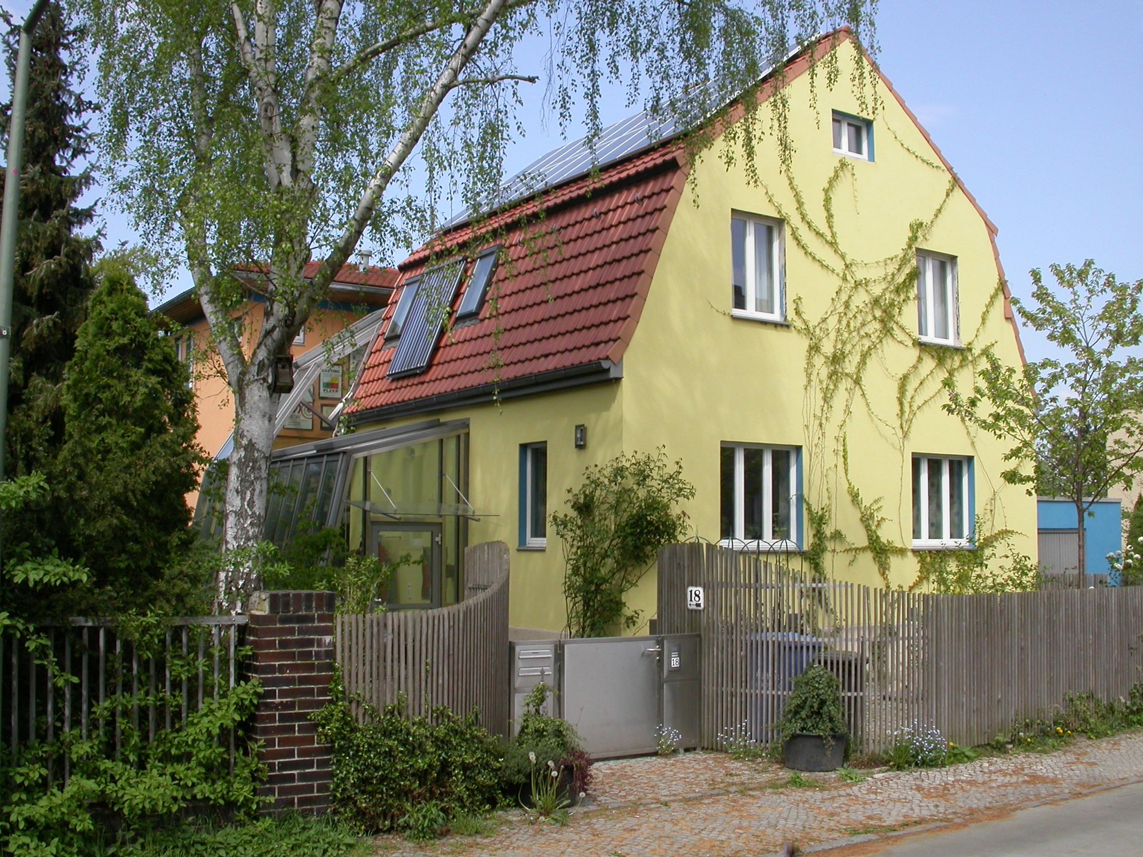 Erweiterung Eines Siedlungshauses Von 1931 Okologisch Bauen